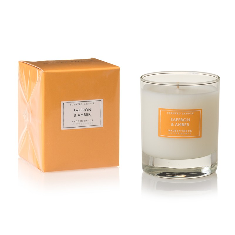 Small Amber Scented Candle