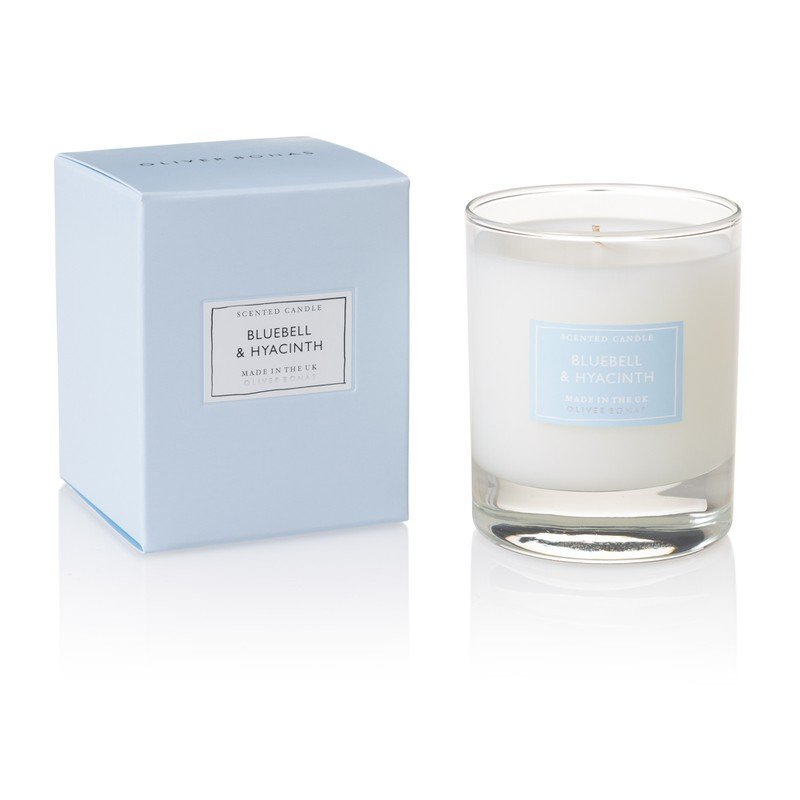 Small Bluebell & Hyacinth Scented Candle