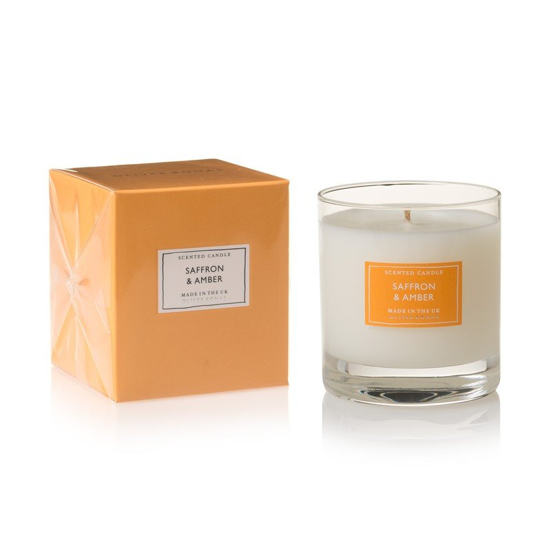 Large Amber Scented Candle