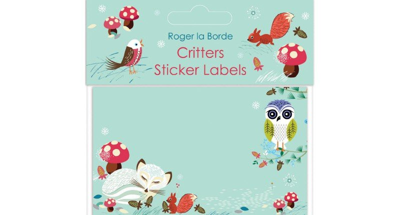 Critters Sticker Labels