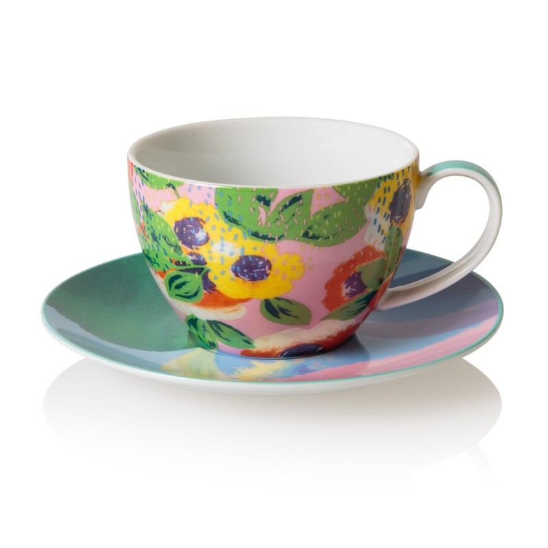 Beatrix Teacup and Saucer