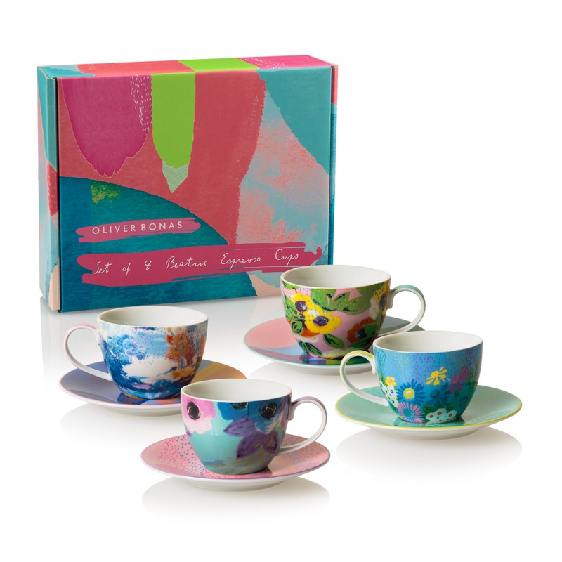 Beatrix Set of Four Espresso Cups