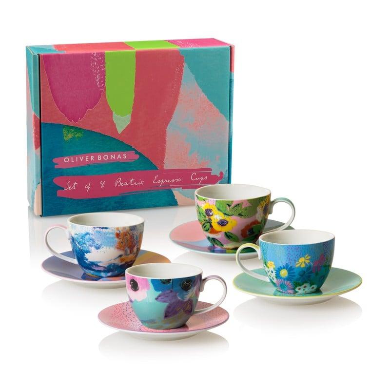 Beatrix Set of Four Espresso Cups