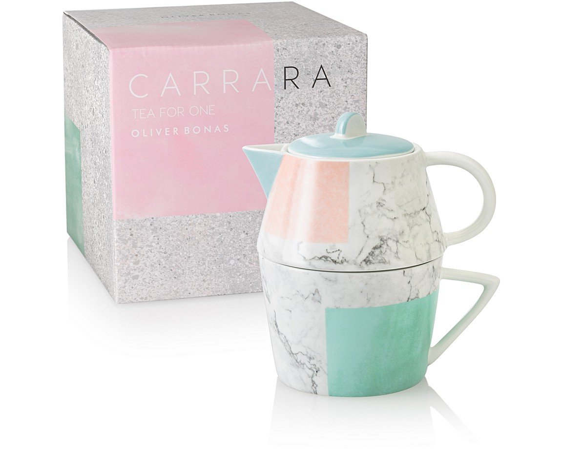 carrara tea for one oliver bonas. Black Bedroom Furniture Sets. Home Design Ideas