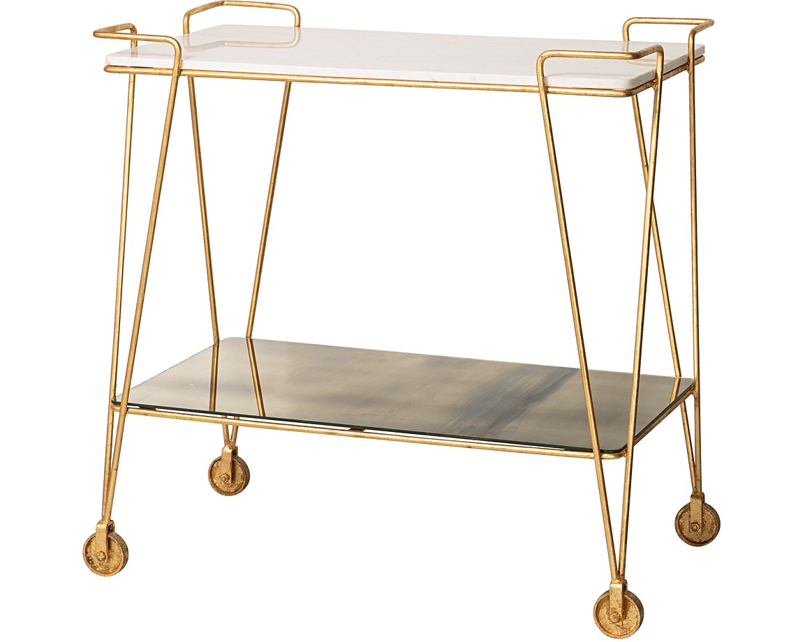 luxe drinks trolley