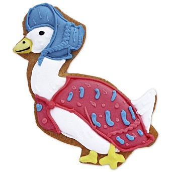 Easter gift ideas hand iced easter gifts biscuiteers jemima puddle duck biscuit card negle Choice Image