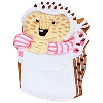 Easter gift ideas hand iced easter gifts biscuiteers mrs tiggy winkle biscuit card negle Choice Image