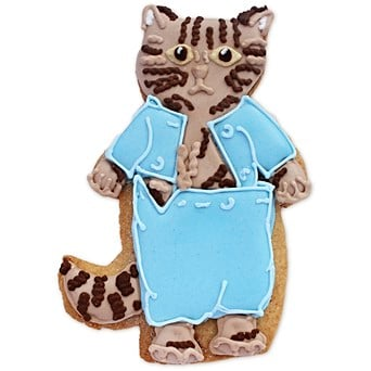 Easter gift ideas hand iced easter gifts biscuiteers tom kitten biscuit card negle Gallery