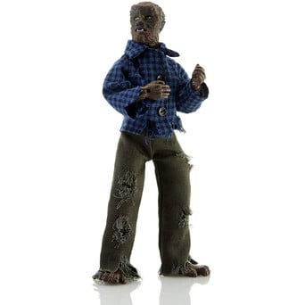 """Mego Horror The Face Of The Screaming Werewolf 8/"""" Action Figure"""