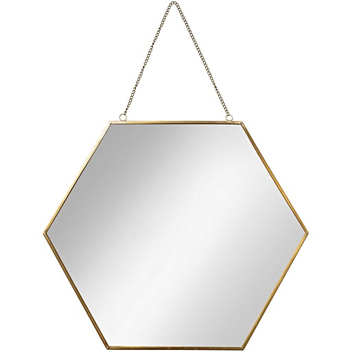 Large Rose Gold Pebble Wall Mirror Oliver Bonas