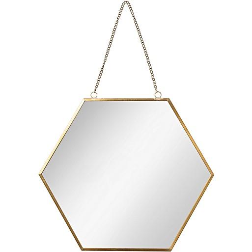 Large Rose Gold Pebble Wall Mirror Oliver Bonas