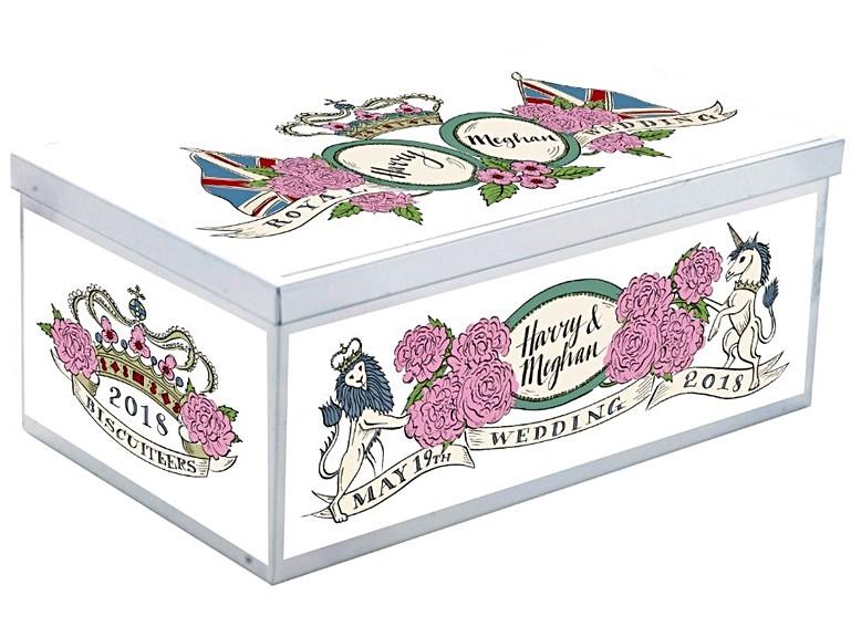 Royal Wedding Gifts: Royal Wedding Luxe Biscuit Tin: Royal Wedding Biscuits