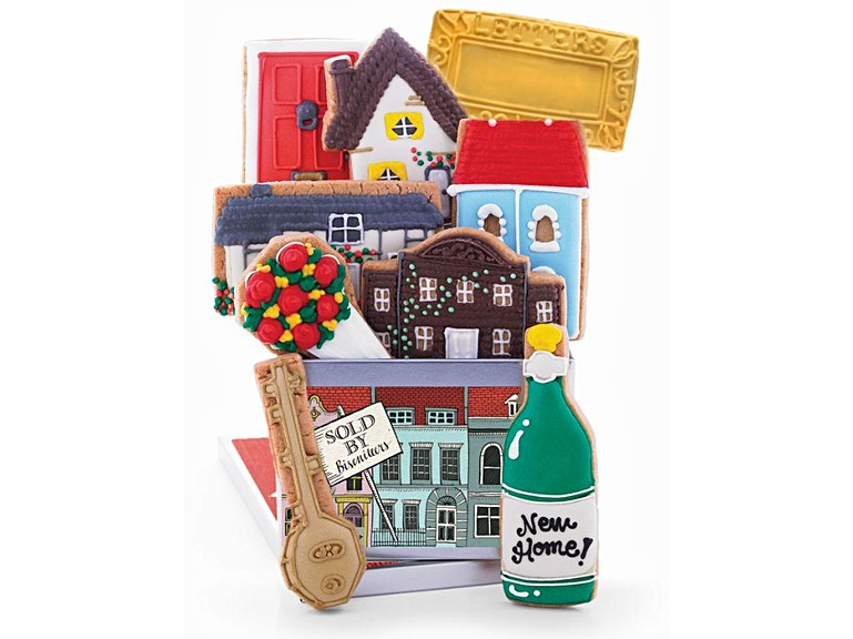 gluten free new home biscuit tin congrats on your new house gift