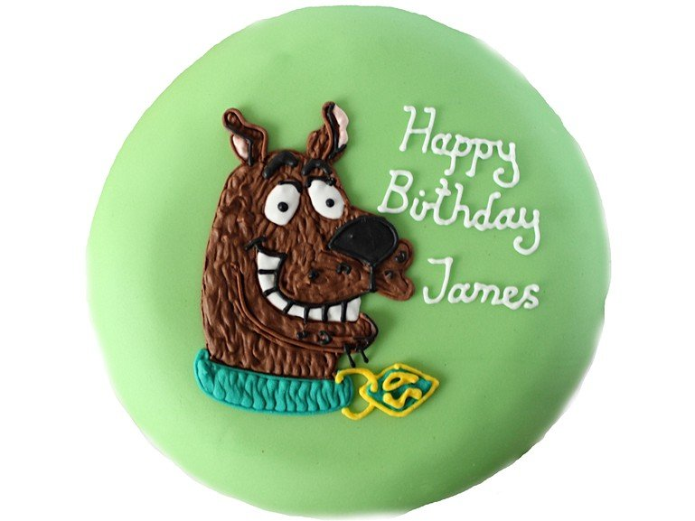 Personalised Scooby Doo Birthday Cake
