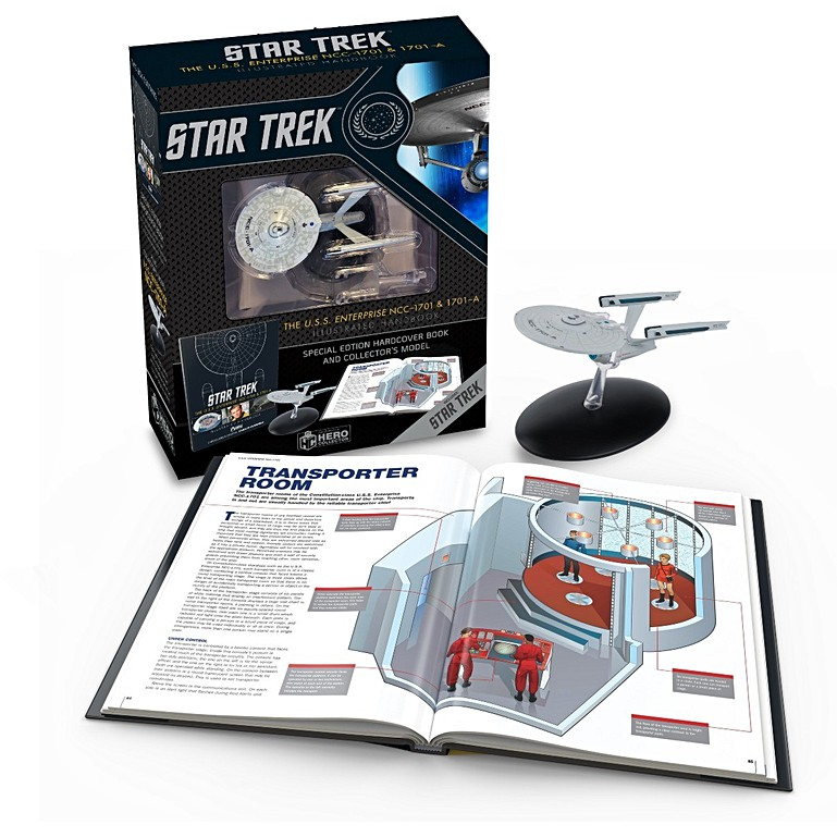 Star Trek Starships Norway Class Die-Cast Metal Vehicle with Collector Magazine #61