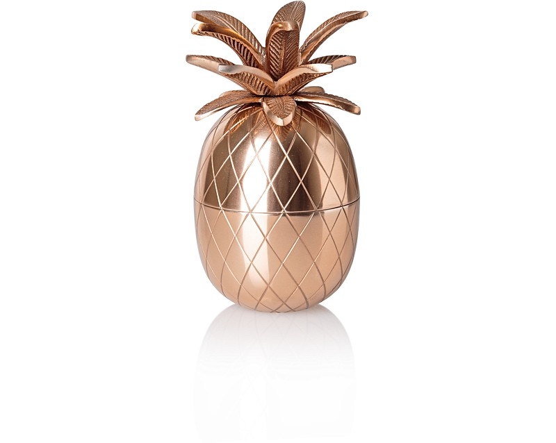 copper pineapple storage pot all oliver bonas