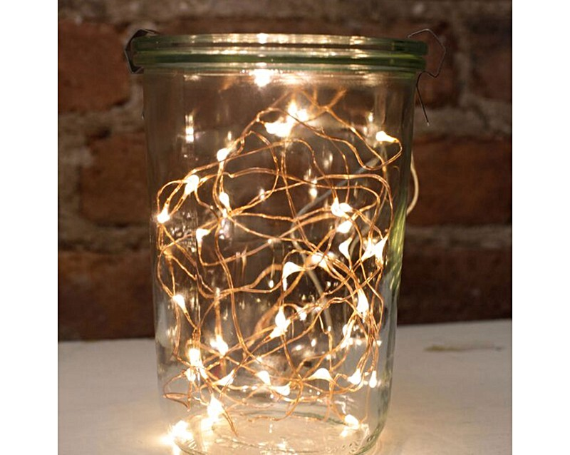 Copper String Lights Down To The Woods : Copper String Lights Oliver Bonas