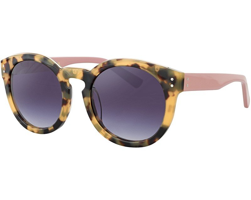 Preppy Sunglasses  brown siah preppy round sunglasses oliver bonas